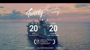 Celebrity Cruises Twenty Twenty Sale TV Spot, 'Unforgettable Family Vacation' - Thumbnail 9