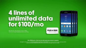 Cricket Wireless TV Spot, 'Hiyeeee: Samsung Galaxy Amp Prime 3' - Thumbnail 9