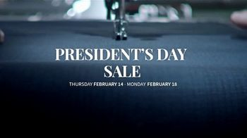 JoS. A. Bank Presidents Day Sale TV Spot, 'Entire Stock of Suits and Dress Shirts' - Thumbnail 1