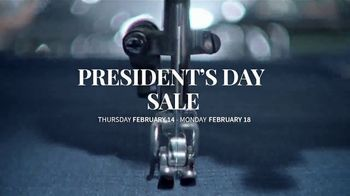 JoS. A. Bank Presidents Day Sale TV Spot, 'Entire Stock of Suits and Dress Shirts' - Thumbnail 2