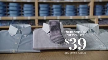 JoS. A. Bank Presidents Day Sale TV Spot, 'Entire Stock of Suits and Dress Shirts' - Thumbnail 4