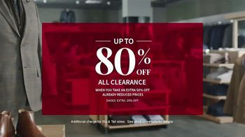 JoS. A. Bank Presidents Day Sale TV Spot, 'Entire Stock of Suits and Dress Shirts' - Thumbnail 5