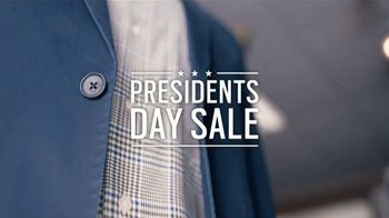 Men's Wearhouse Presidents Day Sale TV Spot, 'Come Shop With Us'