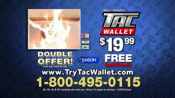 Bell + Howell Tac Wallet TV Spot, 'Can Your Wallet Survive?' - Thumbnail 10
