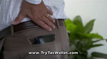 Bell + Howell Tac Wallet TV Spot, 'Can Your Wallet Survive?' - Thumbnail 5