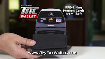 Bell + Howell Tac Wallet TV Spot, 'Can Your Wallet Survive?' - Thumbnail 7