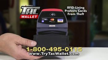Bell + Howell Tac Wallet TV Spot, 'Can Your Wallet Survive?' - Thumbnail 8