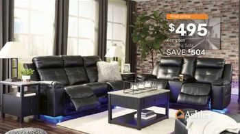 Ashley HomeStore Presidents Day Sale TV Spot, 'Doorbusters: Reclining Sofa and Dining Set' - Thumbnail 4