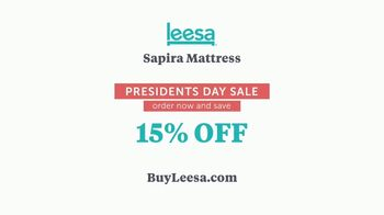 Leesa Presidents Day Sale TV Spot, 'All About My Bed' - Thumbnail 10