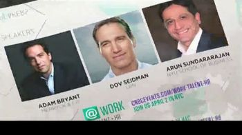 CNBC TV Spot, '@ Work Talent & HR Event'