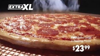 Peter Piper Pizza Extra XL Deal TV Spot, 'Game Face' - Thumbnail 5