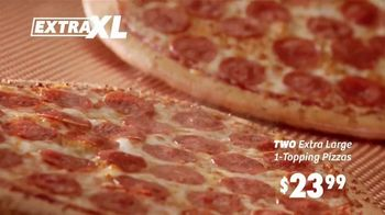 Peter Piper Pizza Extra XL Deal TV Spot, 'Game Face' - Thumbnail 6