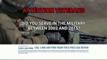 1-800-LAW-FIRM TV Spot, 'Military Hearing Loss' - Thumbnail 2