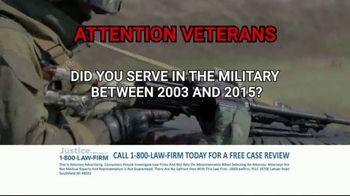 1-800-LAW-FIRM TV Spot, 'Military Hearing Loss' - Thumbnail 3