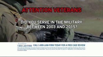 1-800-LAW-FIRM TV Spot, 'Military Hearing Loss' - Thumbnail 4