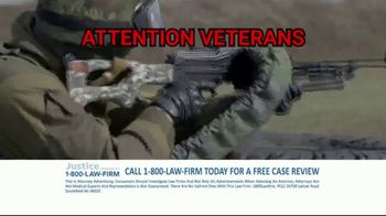 1-800-LAW-FIRM TV Spot, 'Military Hearing Loss' - Thumbnail 6