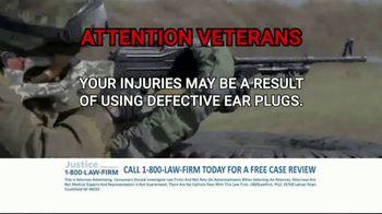 1-800-LAW-FIRM TV Spot, 'Military Hearing Loss' - Thumbnail 7