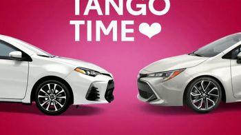Toyota Tango Time Sales Event TV Spot, 'Swing In: Corolla' [T2] - Thumbnail 2