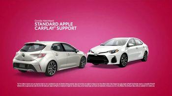 Toyota Tango Time Sales Event TV Spot, 'Swing In: Corolla' [T2] - Thumbnail 3