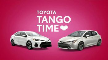 Toyota Tango Time Sales Event TV Spot, 'Swing In: Corolla' [T2] - Thumbnail 6