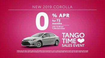Toyota Tango Time Sales Event TV Spot, 'Swing In: Corolla' [T2] - Thumbnail 7