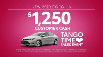 Toyota Tango Time Sales Event TV Spot, 'Swing In: Corolla' [T2] - Thumbnail 8