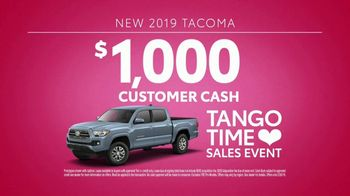 Toyota Tango Time Sales Event TV Spot, 'Swing In: Tacoma' [T2] - Thumbnail 8