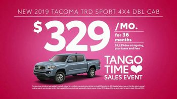 Toyota Tango Time Sales Event TV Spot, 'Swing In: Tacoma' [T2] - Thumbnail 9