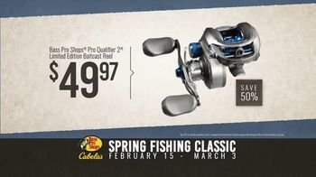 Bass Pro Shops Spring Fishing Classic TV Spot, 'Spinnerbait and Baitcast Reel' - Thumbnail 10
