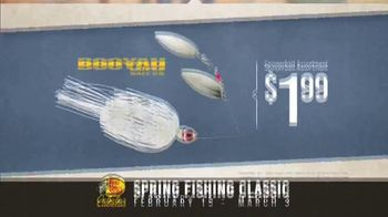 Bass Pro Shops Spring Fishing Classic TV Spot, 'Spinnerbait and Baitcast Reel' - Thumbnail 6