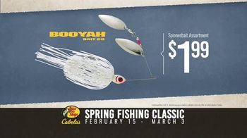 Bass Pro Shops Spring Fishing Classic TV Spot, 'Spinnerbait and Baitcast Reel' - Thumbnail 7
