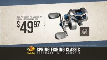 Bass Pro Shops Spring Fishing Classic TV Spot, 'Spinnerbait and Baitcast Reel' - Thumbnail 9