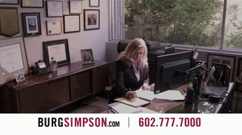 Burg Simpson TV Spot, 'Equally Important' - Thumbnail 2
