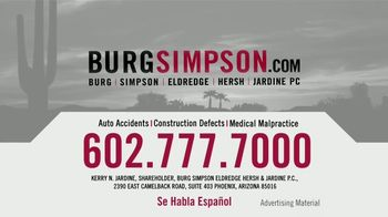 Burg Simpson TV Spot, 'Equally Important' - Thumbnail 8