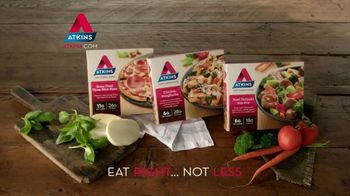 Atkins Frozen Meals TV Spot, 'Time Well Spent' - Thumbnail 10