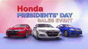 Honda Presidents Day Sales Event TV Spot, 'Massive Savings' [T2] - Thumbnail 7