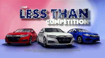 Honda Presidents Day Sales Event TV Spot, 'Massive Savings' [T2] - Thumbnail 6