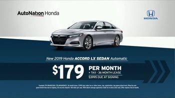 AutoNation TV Spot, '12 Million Vehicles: 2019 Honda Accord' - Thumbnail 6