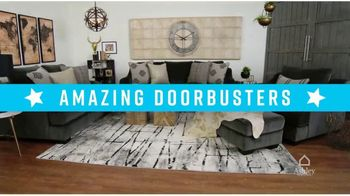 Ashley HomeStore Presidents Day Sale TV Spot, 'Amazing Doorbusters: Sofa and Bed' - Thumbnail 3