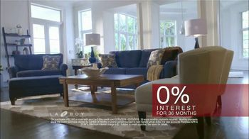 La-Z-Boy Presidents Day Sale TV Spot, 'Special Piece: No Sales Tax and Financing' - Thumbnail 8