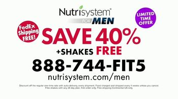 Nutrisystem for Men TV Spot, 'Delicious' Featuring Anthony Sullivan - Thumbnail 10