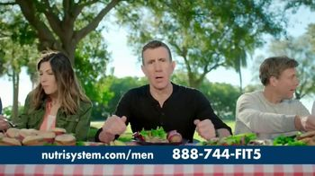 Nutrisystem for Men TV Spot, 'Delicious' Featuring Anthony Sullivan - Thumbnail 9