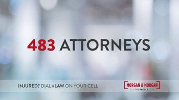 Morgan and Morgan Law Firm TV Spot, '500 Trial-Ready Attorneys' - Thumbnail 3
