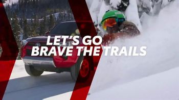 Toyota TV Spot, 'Brave the Trails' [T2] - Thumbnail 3