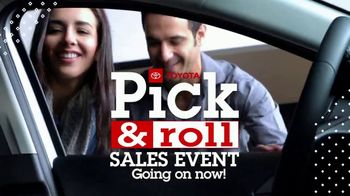 Toyota Pick & Roll Sales Event TV Spot, 'Roll Into Savings' [T2] - Thumbnail 9