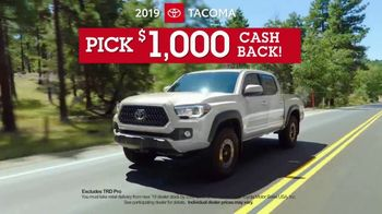 Toyota Pick & Roll Sales Event TV Spot, 'Roll Into Savings' [T2] - Thumbnail 5