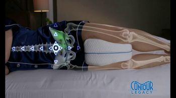 Legacy Leg Pillow TV Spot, 'Align Your Spine' - Thumbnail 5