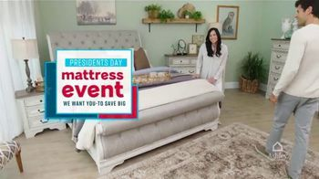 Ashley HomeStore Presidents Day Mattress Event TV Spot, 'Save Big' Song by Midnight Riot - Thumbnail 2