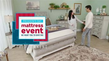 Ashley HomeStore Presidents Day Mattress Event TV Spot, 'Save Big' Song by Midnight Riot - Thumbnail 3