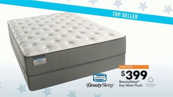 Ashley HomeStore Presidents Day Mattress Event TV Spot, 'Save Big' Song by Midnight Riot - Thumbnail 8
